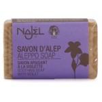 Vente Savon d'Alep à la Violette 100g NAJEL