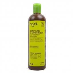 Shampoing au savon d'Alep Bio Cheveux Normaux 500ml NAJEL