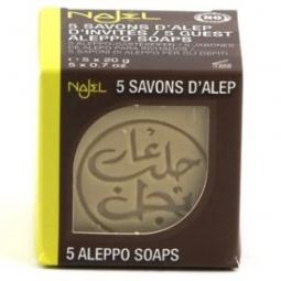 Savon d'Alep Invité 5 x20g NAJEL