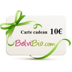 Cartes Cadeaux 10€ BELVIBIO