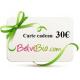 Cartes Cadeaux 10€, 20€, 30€, 40€ ou 50€