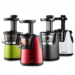 Extracteur de Jus Vertical Juicer 2 photo des 4 couleurs Noir, Vert, Blanc, Rouge ZEN & PUR