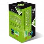 Vente Thé Vert à la Menthe Bio Equitable 24 Sachets TOUCH ORGANIC