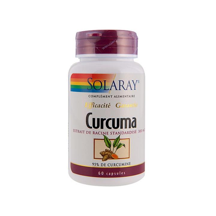 Curcuma 60 Capsules SOLARAY
