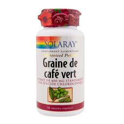 Graine De Café Vert 60 Capsules SOLARAY