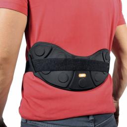 Ceinture Lomboflex Horizontal Magnétique AURIS vue arrière sur vêtement