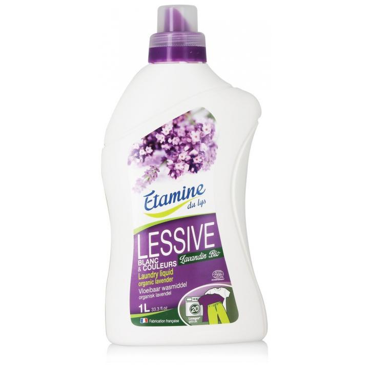 Lessive Liquide Blanc & Couleur 1L ETAMINE DU LYS
