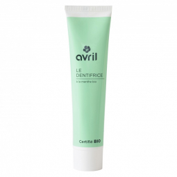 Dentifrice Menthe Bio 75ml AVRIL