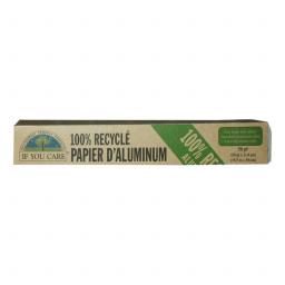 Papier Aluminium 100% Recyclé 15,5m x 30cm IF YOU CARE