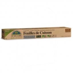 Papier Cuisson Pré-Découpées x 24 Non Blanchi Certifié FSC IF YOU CARE