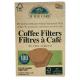 Filtres à Café x 100 Non Blanchi Certifié FSC IF YOU CARE