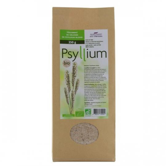 Psyllium Bio 250g ou 500g NUTRITION CONCEPT