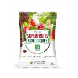 Mix Superfruits Et Eclats Fèves De Cacao Bio 30g COMPTOIRS ET COMPAGNIES