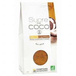 Sucre De Fleurs De Noix De Coco Bio 200g COMPTOIRS ET COMPAGNIES