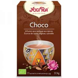 Infusion Aux Epices Choco Bio 17 Sachets 2,2g YOGI TEA