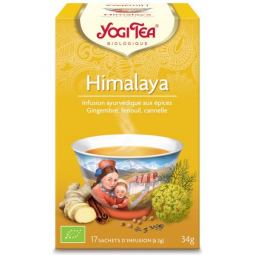 Infusion Aux Epices Himalaya Bio 17 Sachets 2g YOGI TEA