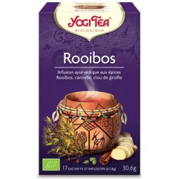 Infusion Aux Epices Rooibos Bio 17 Sachets 1,8g YOGI TEA