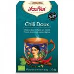 Vente Infusion Aux Epices Chili Doux Bio 17 Sachets 1,8g YOGI TEA