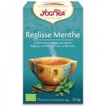 Vente Infusion Aux Epices Réglisse Menthe Bio 17 Sachets 1,8g YOGI TEA