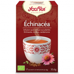 Infusion Aux Plantes Echinacéa Bio 17 Sachets 1,8g YOGI TEA