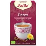 Vente Infusion Aux Plantes Detox Bio 17 Sachets 1,8g YOGI TEA