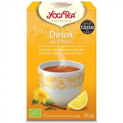 Infusion Aux Plantes Detox Ciron Bio 17 Sachets 1,8g YOGI TEA