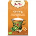 Vente Infusion Aux Plantes Ginseng Bio 17 Sachets 1,8g YOGI TEA
