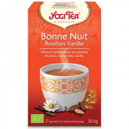Infusion Aux Plantes Bonne Nuit RV Bio 17 Sachets 1,8g YOGI TEA
