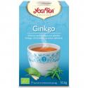 Infusion Aux Plantes Ginkgo Bio 17 Sachets 1,8g YOGI TEA