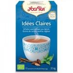 Vente Infusion Aux Plantes Idées Claires Bio 17 Sachets 2,2g YOGI TEA
