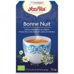 Vente Infusion Aux Plantes Bonne Nuit Bio 17 Sachets 1,8g YOGI TEA