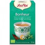 Vente Infusion Aux Plantes Bonheur Bio 17 Sachets 1,8g YOGI TEA