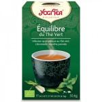 Vente Thé Vert Équilibre du Thé Vert Bio 17 Sachets 1,8g YOGI TEA