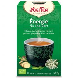 Thé Vert Énergie du Thé Vert Bio 17 Sachets 1,8g YOGI TEA