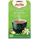 Vente Thé Vert Au Jasmin Bio 17 Sachets 1,8g YOGI TEA