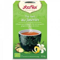 Thé Vert Au Jasmin Bio 17 Sachets 1,8g YOGI TEA