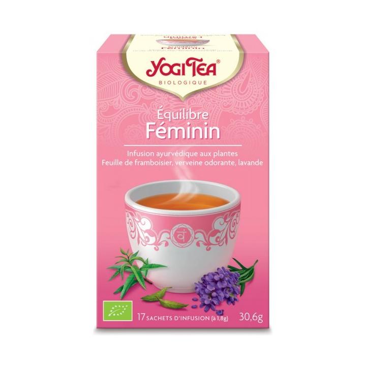 Infusion Équilibre Féminin Bio 17 Sachets 1,8g YOGI TEA