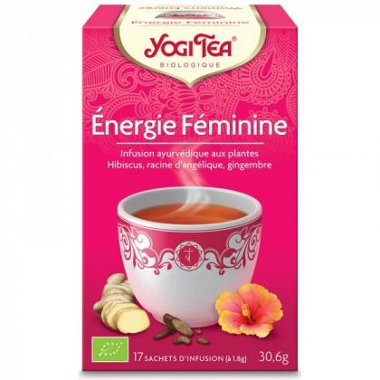 Infusion Énergie Féminine Bio 17 Sachets 1,8g YOGI TEA