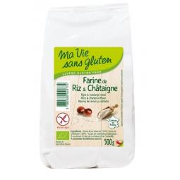 Farine De Riz Et Châtaigne Bio 500g MA VIE SANS GLUTEN