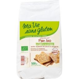Préparation Pour Pain Millet Et Graines Bio 500g MA VIE SANS GLUTEN