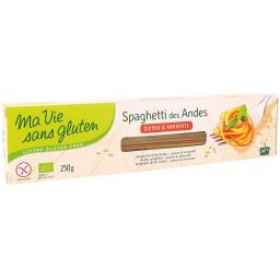 Spaghetti Des Andes Bio 250g MA VIE SANS GLUTEN