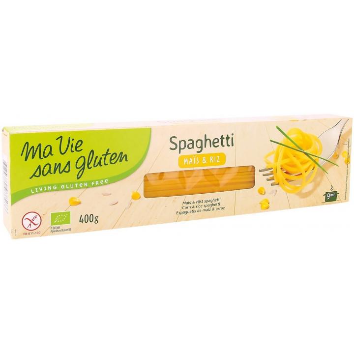 Spaghetti Maïs Et Riz Bio 400g MA VIE SANS GLUTEN