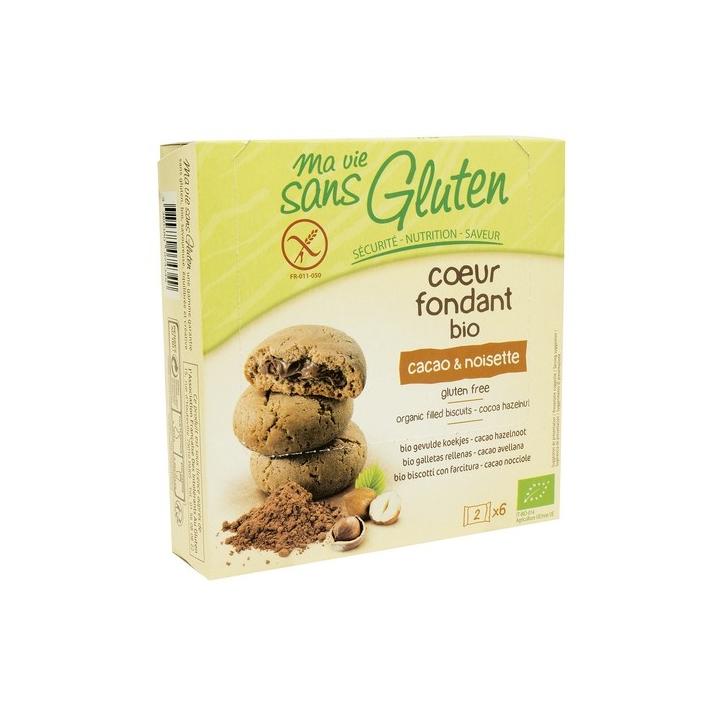 Cœur Fondant Cacao Et Noisette Bio 200g MA VIE SANS GLUTEN