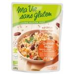 Vente Plat Cuisiné Quinoa-Millet Haricots Rouges Et Petits Légumes Bio 220g MA VIE SANS GLUTEN