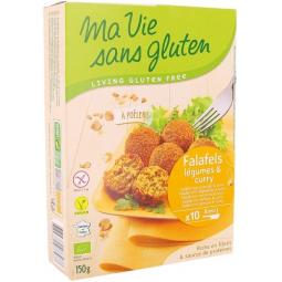 Falafels Légumes Et Curry Bio 150g MA VIE SANS GLUTEN
