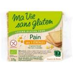 Vente Pain Aux 3 Céréales Bio 375g MA VIE SANS GLUTEN