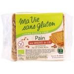 Vente Pain Aux Graines De Lin Bio 375g MA VIE SANS GLUTEN