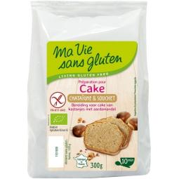 Préparation Pour Cake, Châtaigne & Souchet Bio 300g MA VIE SANS GLUTEN