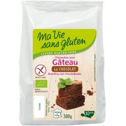 Préparation Pour Gâteau Au Chocolat Bio 300g MA VIE SANS GLUTEN