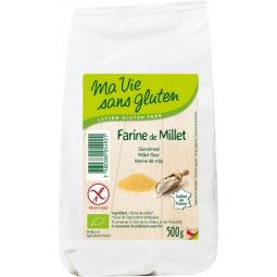 Farine De Millet Bio 500g MA VIE SANS GLUTEN